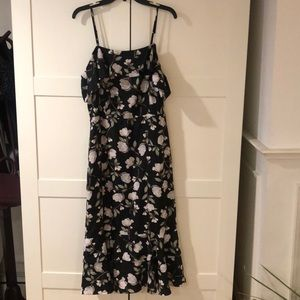 Brand new floral off the shoulder JOA dress